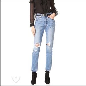 Levi's 501S Mom Skinny Jeans Old Hangouts